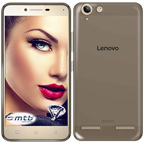mtb more energy® Schutz-Hülle Clear & Slim für Lenovo K5 / K5 Plus (5.0'') | transp.-schwarz | flexibel | TPU Case Schutz Hülle Tasche