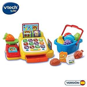 VTech- Caja registradora supermercado Aprendizaje Interactivo, Multicolor (3480-191322)