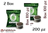 Caffè Borbone - Miscela Verde / Dek - Capsula FAP Lavazza Espresso Point - 200 pz (2x100)