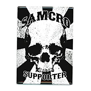 Sons Of Anarchy Soa Samcro Supporter Magnet