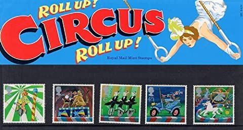 2002 Circus Stamps in Presentation pack
