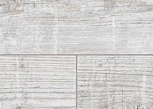 MUSTER FLOOR24 Laminat Landhausdiele 4V Alpenfichte grau Struktur 8 mm