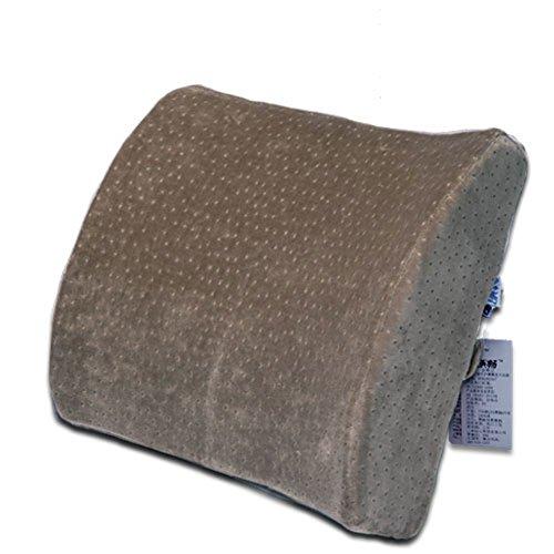 Office Chair cintura/Cuscino/ memory foam pad lombare/Cuscino lombare massaggia-B