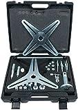 KS Tools 150.2160 SAC Kupplungswerkzeug-Satz (3-und 4-Loch-Teilung), 37-tlg.