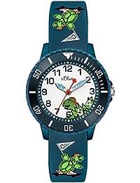 s.Oliver Unisex Kinder-Armbanduhr SO-3556-PQ