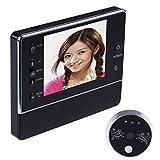 """Rrimin 3.5"""" Digital Doorbell Peephole Viewer Camera DVR Night Vision 120° 3 X"""