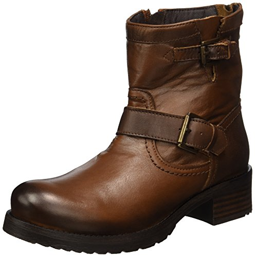 Buffalo London Damen ES 30509L Sauvage Biker Boots, Braun (Brandy 07), 39 EU