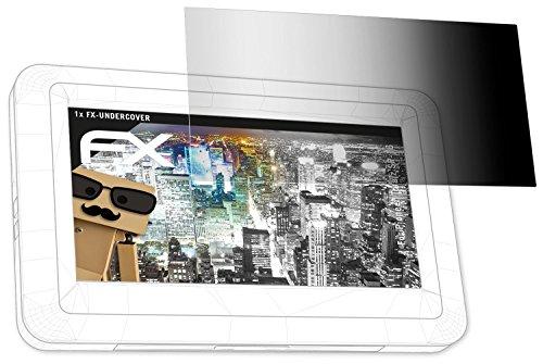 atFoliX Blickschutzfilter für Pioneer Toraiz SP-16 Blickschutzfolie - 1er Set FX-Undercover 4-Wege Sichtschutz Displayschutzfolie