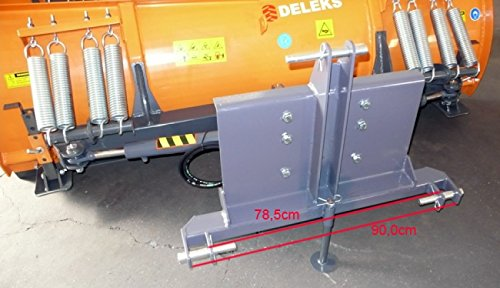 Schneeschild mit Dreipunktanbau und hydr. Seitenverstellung fur Traktoren -LN-220 C