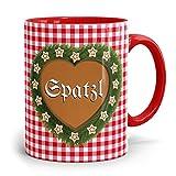 Drucksaal Bayerische-Kaffeehaferl-Bayern-Tassen-Becher-Tasse Spatzl