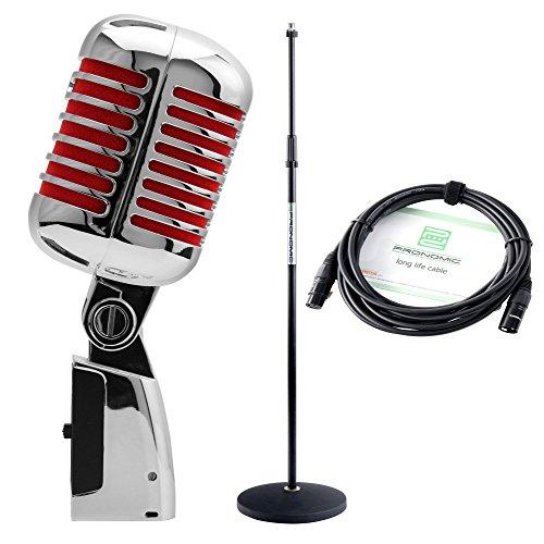 s-Mikrofon dynamsich rot SET ()