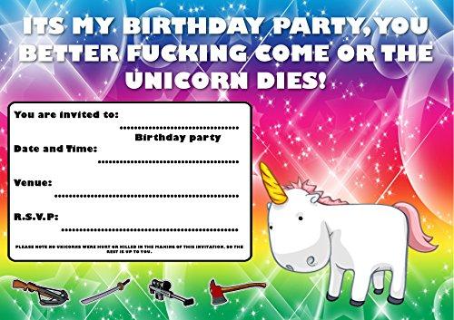 HEMA GEBURTSTAGSPARTY EINLADUNGEN / EINLADUNGEN i002 (Themen Für Erwachsene Geburtstagsfeiern)