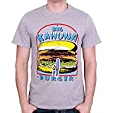 Pulp Fiction Big Kahuna Burger T-Shirt grau meliert L