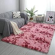 Modern Shaggy Rugs Fluffy Soft Touch Living Room Bedroom Rectangular carpet Bedside Floor Mat