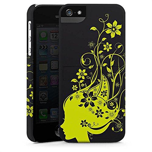 Apple iPhone X Silikon Hülle Case Schutzhülle Blüten Muster Mädchen Premium Case StandUp