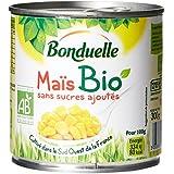 Bonduelle Maïs Bio sans sucres ajoutés 300 g, égoutté 285 g