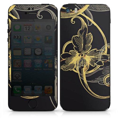 Apple iPhone 4 Case Skin Sticker aus Vinyl-Folie Aufkleber Blume Blüte Floral DesignSkins® glänzend