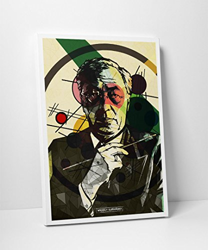 Leinwand -- Wassily Kandinsky - Ein Kunstportrait -- Expressionismus Bauhaus Moderne Abstrakt