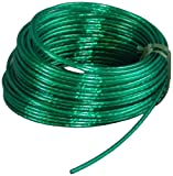 Suki 3819143 - Rollo de cable para tender (acero plastificado, 3,5 mm x 30 m), color verde