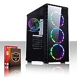 Fierce Fortnite RGB/RVB PC Gamer - Vite 6 x 4.0GHz Hex-Core Intel Core i5 8400, 1To Disque Dur, 8Go of 2666MHz DDR4 RAM / Mémoire, NVIDIA GeForce GTX 1060 6Go, Gigabyte H310M S2H Carte Mère, CiT Raider RGB/RVB Boite D'ordinateur, HDMI, USB3, Wi - Fi, VR Prêt, Parfait pour les jeux haut de gamme, Windows non Inclus, 3 Ans De Garantie 1001889