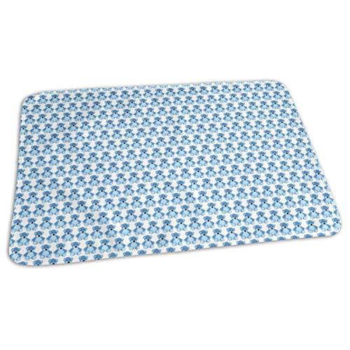 Bikofhd Baby Bear-Blue Baby Portable Reusable Changing Pad Mat 19.7X 27.5 inch