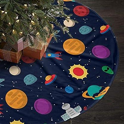 xifengquyuanyuanbaihuodian-Galaxy-Raumschiff-90cm-Weihnachtsbaum-Rock-fr-Neujahrsfest-Dekor-Neujahrsfest-Party-Dekoration