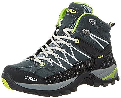 CMP Campagnolo Damen Rigel Mid WP Trekking-& Wanderstiefel, Grau (Grey-Ice-Acido), 40 EU