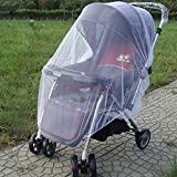 Kiddale Baby Stroller Mosquito And Bug Net For Strollers And Car Seats, Large Size, Elastic Band For Easy Installation, Perfect For Camping And Outdoors, Full Protection Against Mosquitoes