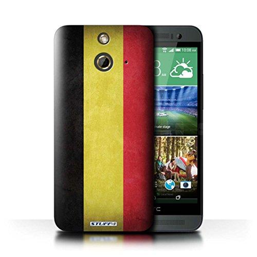 Kobalt® Imprimé Etui / Coque pour HTC One/1 E8 / Corée/coréen conception / Série Drapeau Belgique