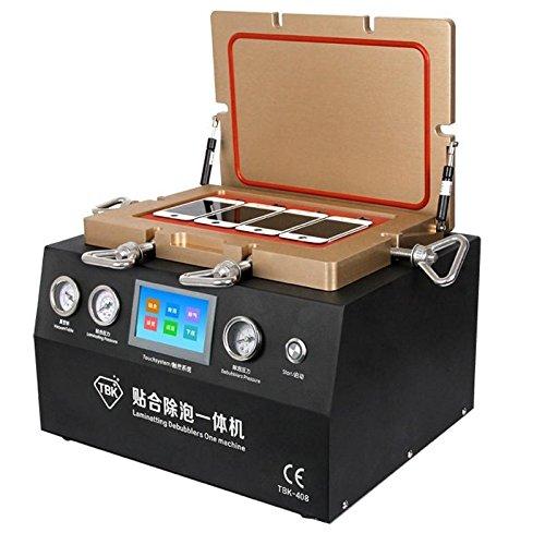 Kit di riparazione, 800W 2 in 1 della bolla di aria di rimozione di riparazione dello schermo della macchina sottovuoto schermo LCD macchina di laminazione
