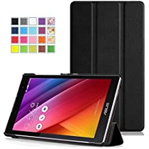 MoKo Etui ASUS ZenPad C 7.0 - étui à Rabat avec Support Ultra-Mince et Léger pour Tablette ASUS ZenPad C 7.0 Z170C 2015, NOIR