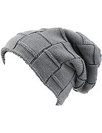 Sakkas Volc Long Tall Plissee Kunstpelz mit Lammfellfutter Unisex Winter-Hut Mütze