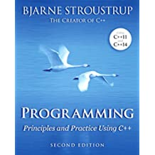 Programming: Principles and Practice Using C++