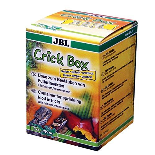 JBL CrickBox 71034 Schütteldose zum Bestäuben von Futterinsekten