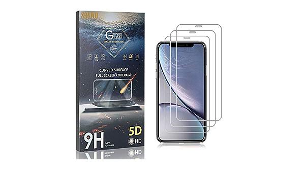 Sonwo Panzerglas 3 Stück Ultra Klar Panzerglasfolie Kompatibel Mit Iphone 11 Displayschutzfolie Kratzfest Anti Fingerprint Baby