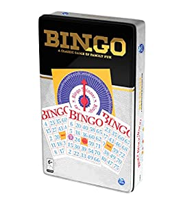 "Spin Master SPINMASTER 6036788""Bingo Lata Juego"