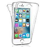 Apple iPhone 5/ 5S/ SE Housse HCN PHONE Coque Silicone Gel ultra mince 360°...