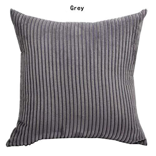 EUCoo_Haushalt Haushalt Kissenbezug einfache einfarbige Cord einfarbige Kissenbezug nordischen Stil Sofa Kissenbezug kissenbezüge (Decke Touch Perfect)