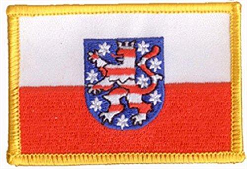 U24 Aufnäher Thüringen Aufbügler Patch