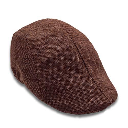 AROVON Cap Fashion Freizeithut Golf Newsboy Fashion und Classic Wool Cap New Herringbone Duckbill Ivy - Kappe-Ärmel-mesh-cap