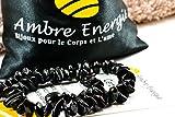 Collier Ambre 32-33cm. - 100% Plus Haute Qualité Certifié l'Ambre la Baltique Authentique Collier Perles de plus gros!! (Cherry)