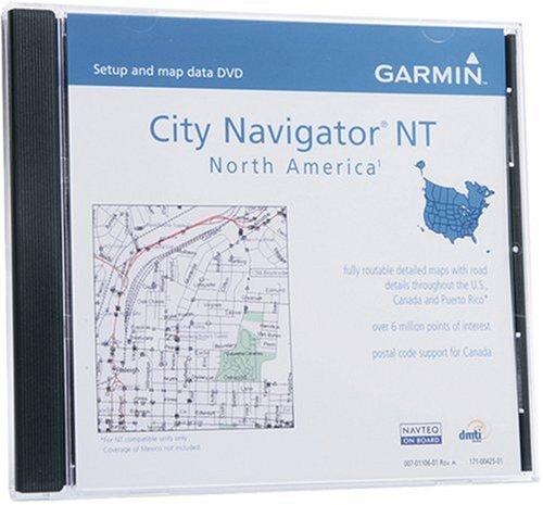 Garmin DVD City Navigator USA inkl. Canada, nur für NT-Geräte (North America) -