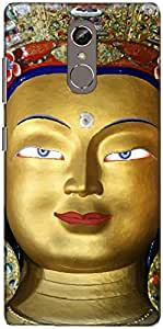 The Racoon Grip buddha in ladakh hard plastic printed back case/cover for Gionee S6S