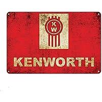 Kenworth Cartel de Chapa Retro Vintage Decoración de Pared Metal Bar Placa Pintura de Estrellas Patio Pub Taberna Tienda Bar Party Game Room Home Decoration Wall Plaque