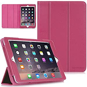 CaseCrown Bold Trifold Case (Pink) for Apple iPad Mini / iPad Mini with Retina Display (Built-in magnet for sleep / wake feature)