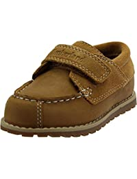 Timberland Pokey Pine Oxford Wheat Leather Infant Boat Shoes