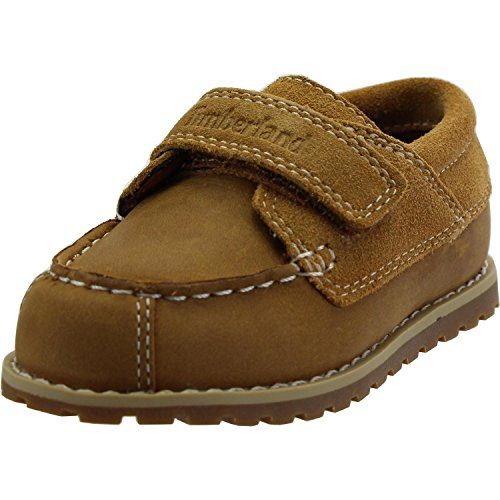 Timberland Pokey Pine Oxford Infant Wheat Leather Boat Shoes Wheat