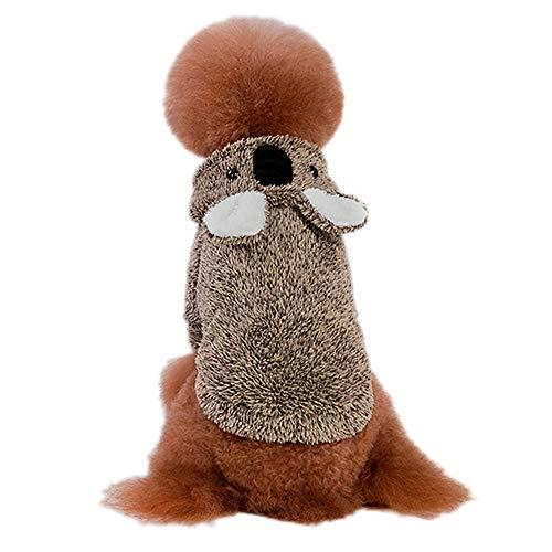 TJW Hundepullover, Fleece, warm, für kleine und mittelgroße Haustiere bei kaltem Wetter