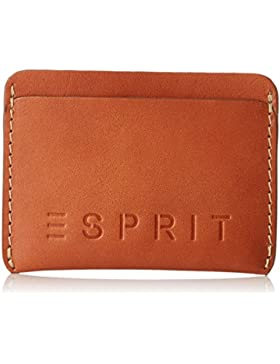 Esprit - 028ea2v003, Monederos Hombre, Marrón (Camel), 1x8x10.5 cm (B x H T)
