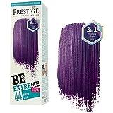 Be Extreme Tóner Semi Permanente para Pelo, Color Lila Potente 44- Sin Amoniaco, Sin Parabenos y PPD